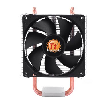 THERMALTAKE Contac 16 CPU Cooler Universal Socket Compatibility 92mm fan two 6mm Heat-Pipes