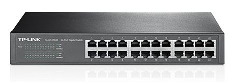 TP-LINK 24port Gigab. ECO-Switch 19in