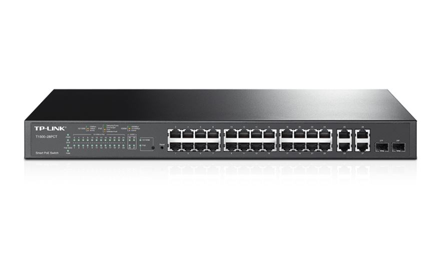 TP-Link 24-Port 10 100Mbps + 4-Port Gigabit Smart Switch 24 10 100Mbps RJ45 ports