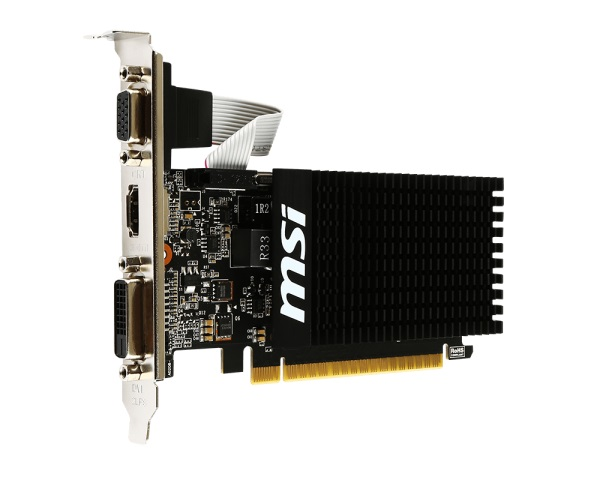 MSI GeForce GT 710 2GD3H LP HDMI DVI-D D-Sub