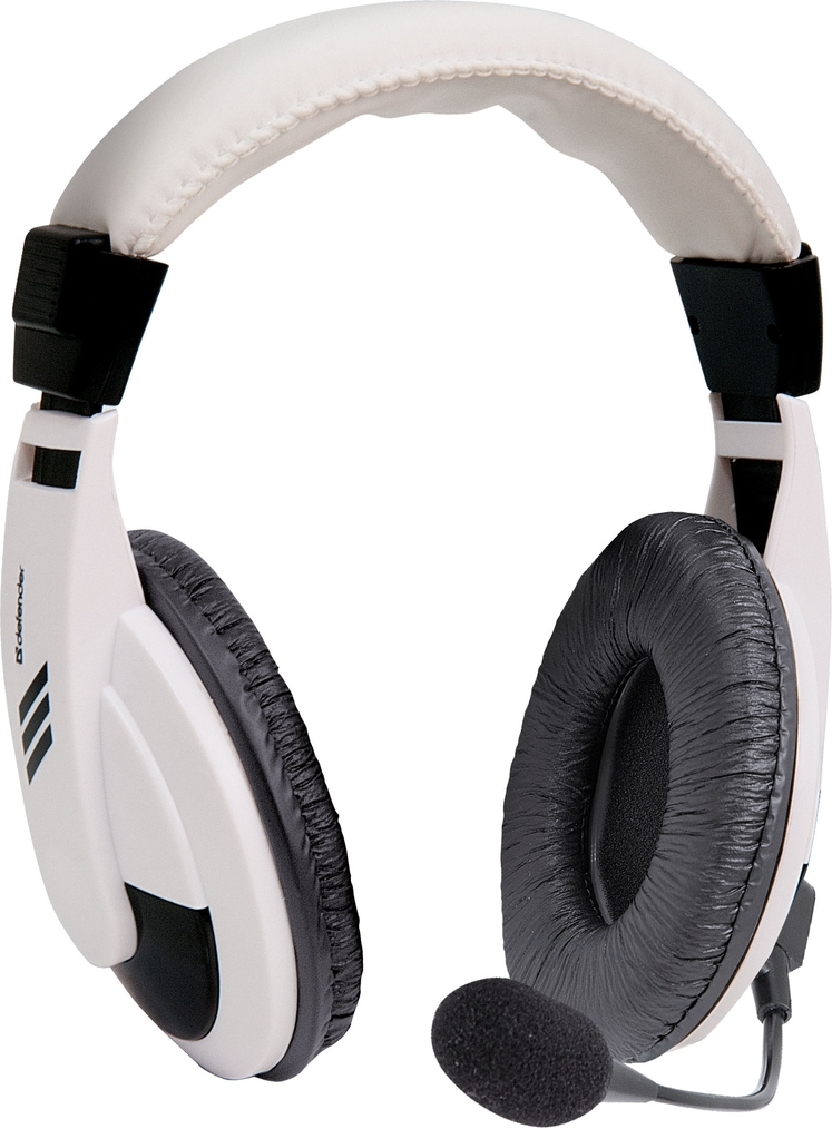 DEFENDER Headset for PC Gryphon 750 white, cable 2 m