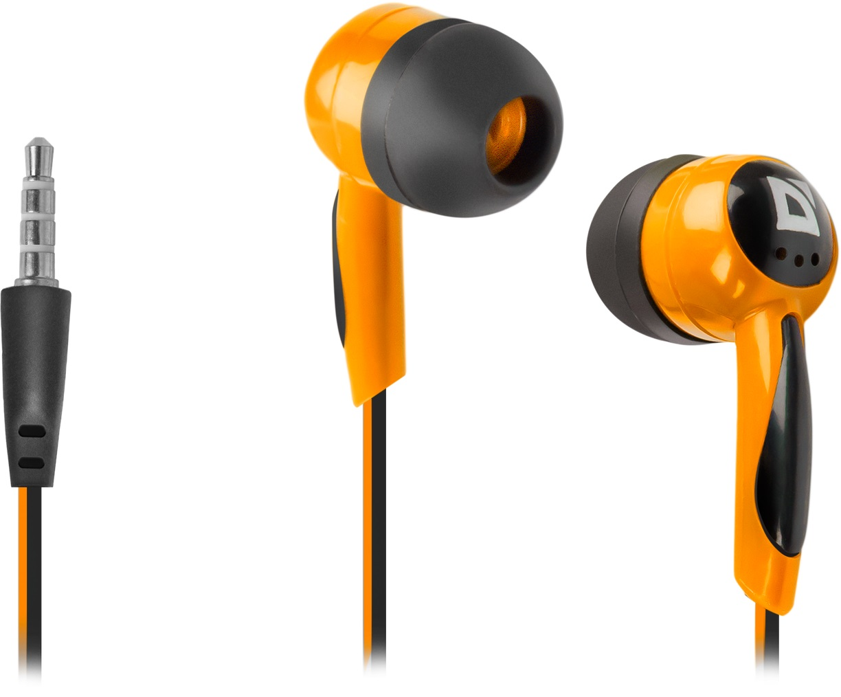 DEFENDER In-ear headphones Basic 604 black + orange