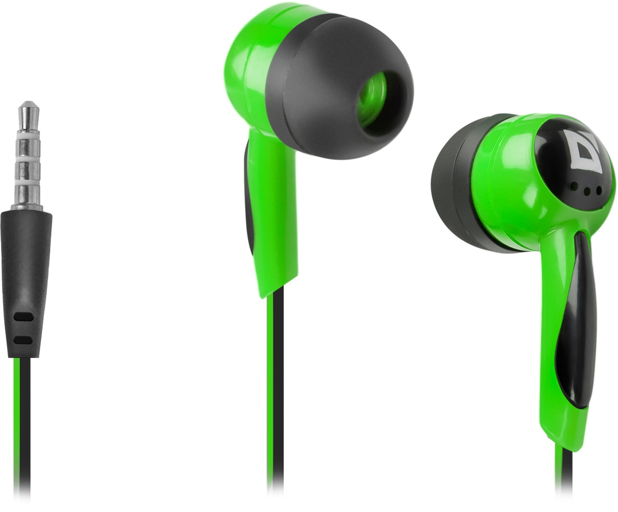 DEFENDER In-ear headphones Basic 604 black + green