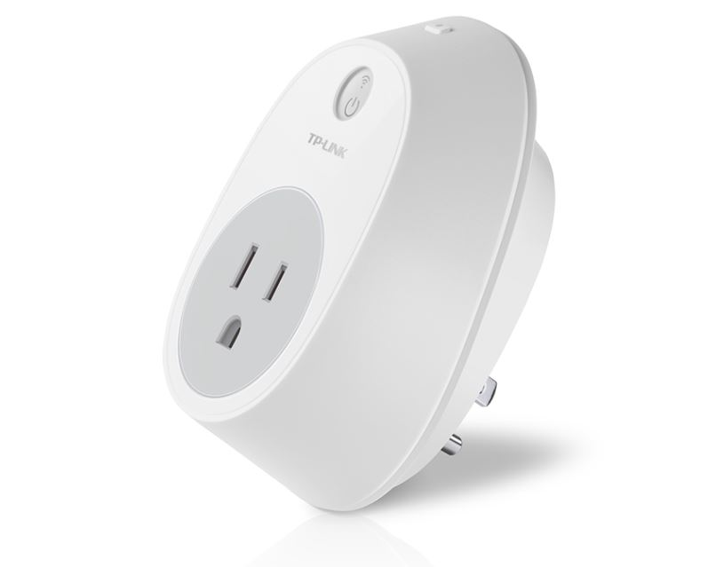 TP-LINK WiFi Smart Plug 2.4GHz 802.11b g n works with Home Automation app Kasa (for both Andriod and iOS) local Wi-Fi control