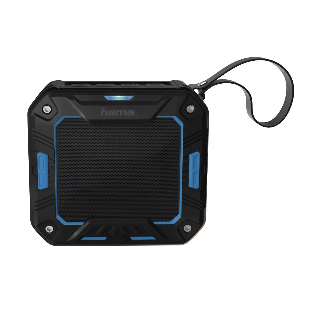 HAMA Rockman-S Mobile Bluetooth Speaker black blue
