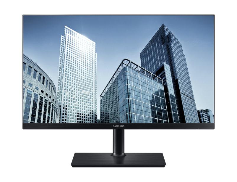 SAMSUNG S27H850QFU 27inch TFT 16:9 2560x1440 350cd m2 1000:1 4ms PLS Pivot HDMI DP black