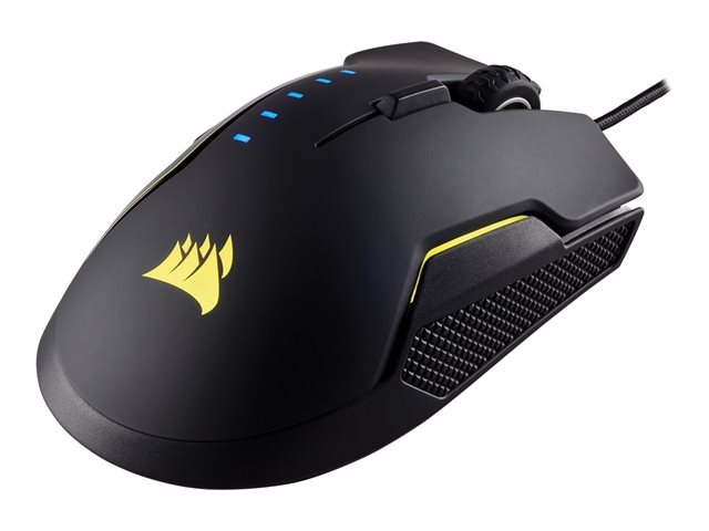 CORSAIR Glaive RGB Gaming Mouse backlit RGB led 16000DPI Optical black