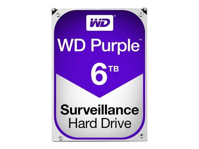 WD Purple 6TB SATA 6Gb s CE HDD 3.5inch internal 5400Rpm 64MB Cache 24x7 Bulk