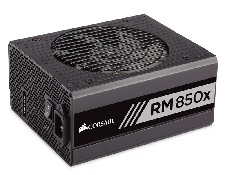 CORSAIR Enthusiast White Series RM850x Power Supply Fully Modular 80 Plus Gold 850 Watt EU Version