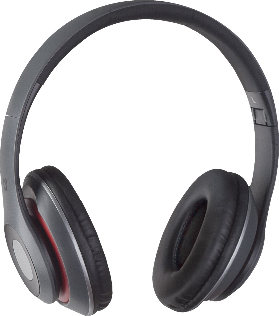 DEFENDER Wireless stereo headset FreeMotion B570 red+ gray Bluetooth