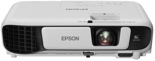 EPSON EB-W42 3LCD WXGA mobile projector 1280x800 16:10 3600 lumen 15.000:1 contrast 2W speaker