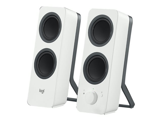 LOGITECH Z207 Bluetooth Computer Speakers - OFF WHITE - EMEA