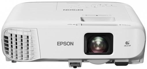 EPSON EB-970 3LCD mobile projector 1024x768 4:3 4000 lumen 15000:1 contrast 16W speaker