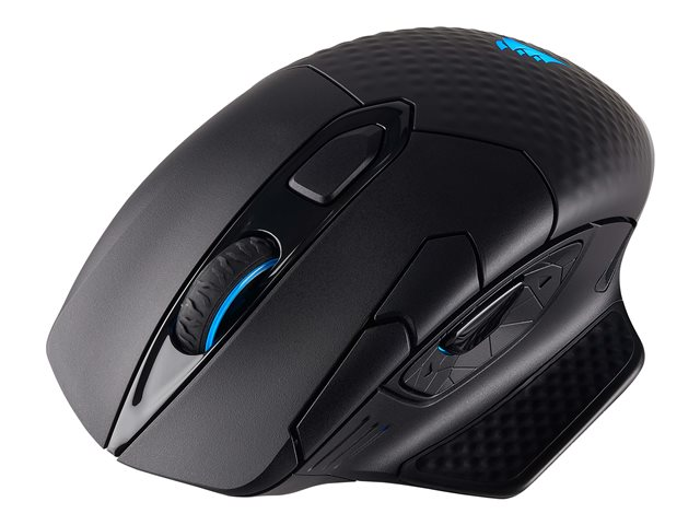 CORSAIR Dark Core RGB Performance Wired Wireless Gaming Mouse with QI Wireless charging Backlit LED 16000DPI