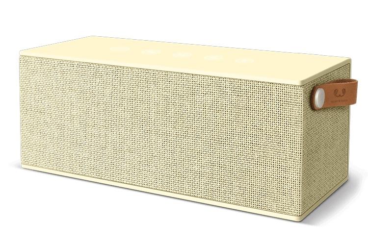 FRESHN REBEL Rockbox Brick XL Fabriq Edition Bluetooth Speaker Buttercup