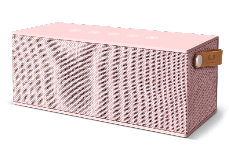 FRESHN REBEL Rockbox Brick XL Fabriq Edition Bluetooth Speaker Cupcake