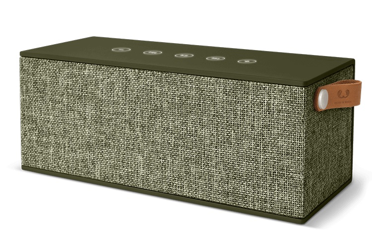 FRESHN REBEL Rockbox Brick XL Fabriq Edition Bluetooth Speaker Army