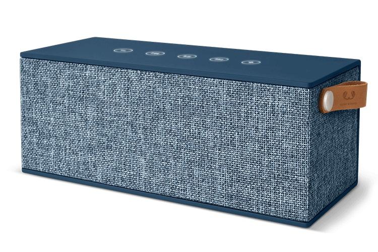 FRESHN REBEL Rockbox Brick XL Fabriq Edition Bluetooth Speaker Indigo