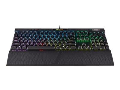 CORSAIR K70 RGB MK.2 Mechanical Gaming Keyboard Backlit RGB LED Cherry MX Silent US