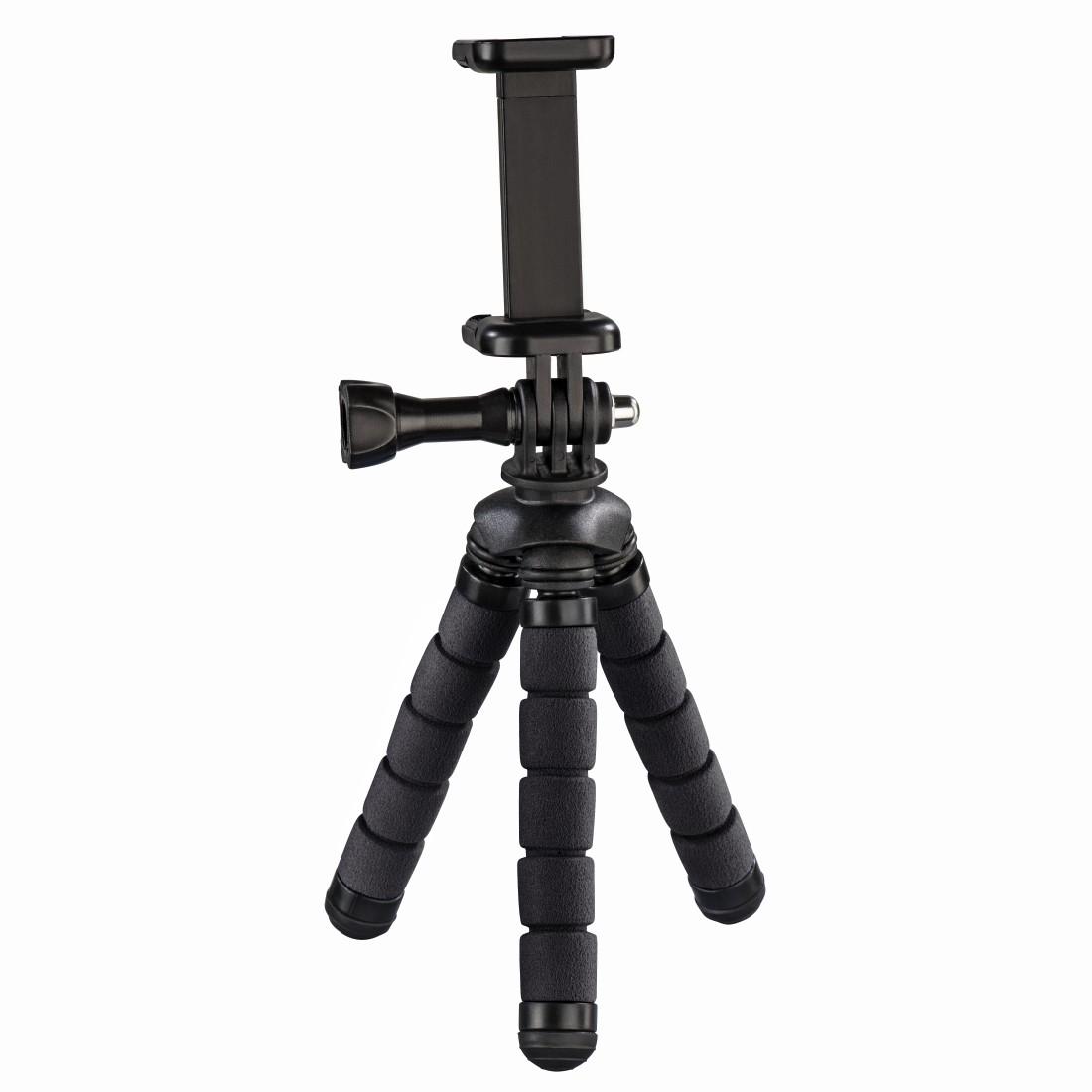 HAMA Flex Mini-Tripod for Smartphone and GoPro 14 cm black