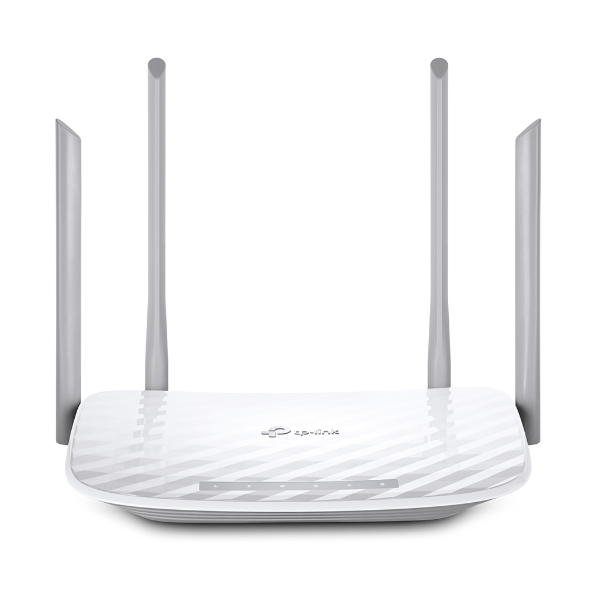 TP-LINK AC1200 Dual-Band Wi-Fi Gigabit Router 802.11ac a b g n 867Mbps at 5GHz + 300Mbps at 2.4GHz 5 Gigabit Ports 1 USB 2.0