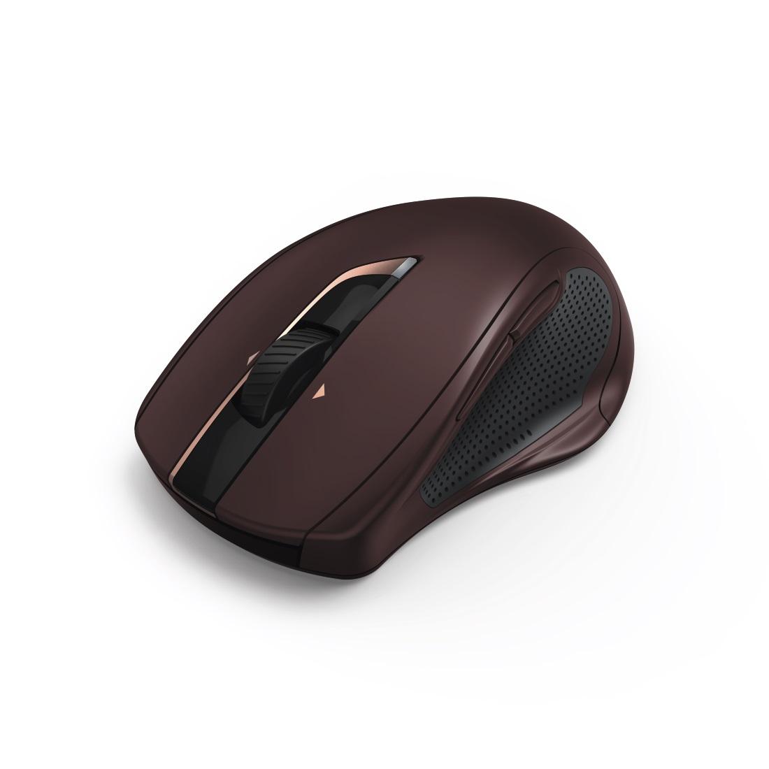 HAMA MW-800 7-Button Laser Wireless Mouse Auto-dpi burgundy