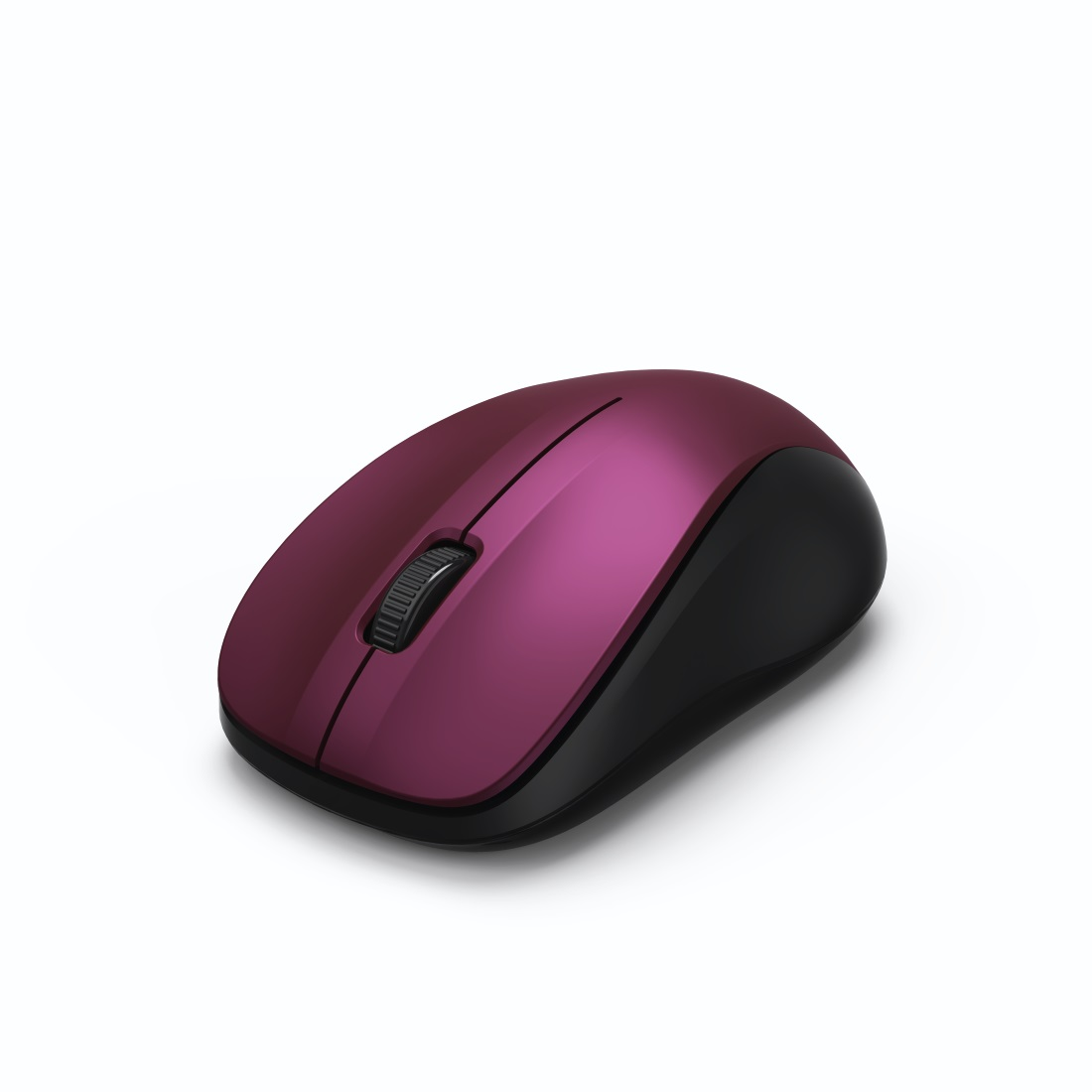 HAMA MW-300 Optical Wireless Mouse 3 Buttons bordeaux pink