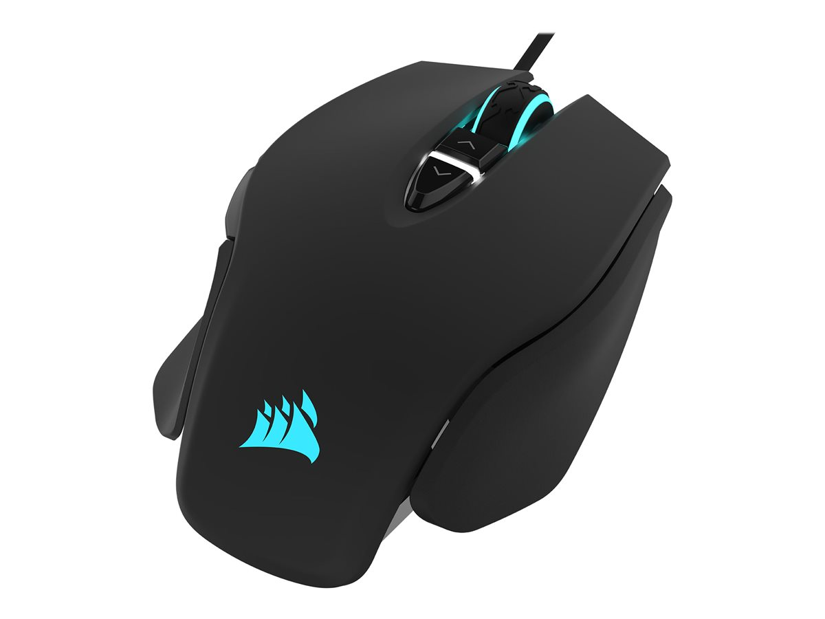 CORSAIR M65 RGB ELITE Tunable FPS Gaming Mouse Black