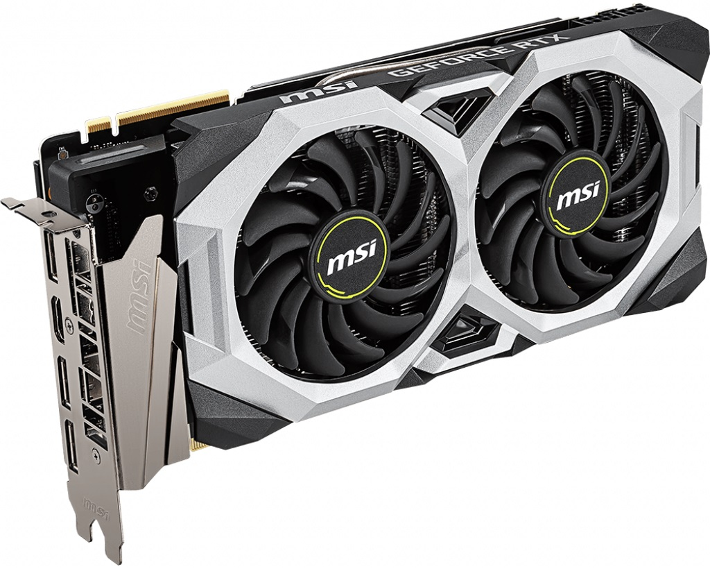 MSI GeForce RTX 2080 VENTUS 8G V2 8GB GDDR6 1xHDMI 3xDP PCI-E 3.0 DX12 ATX
