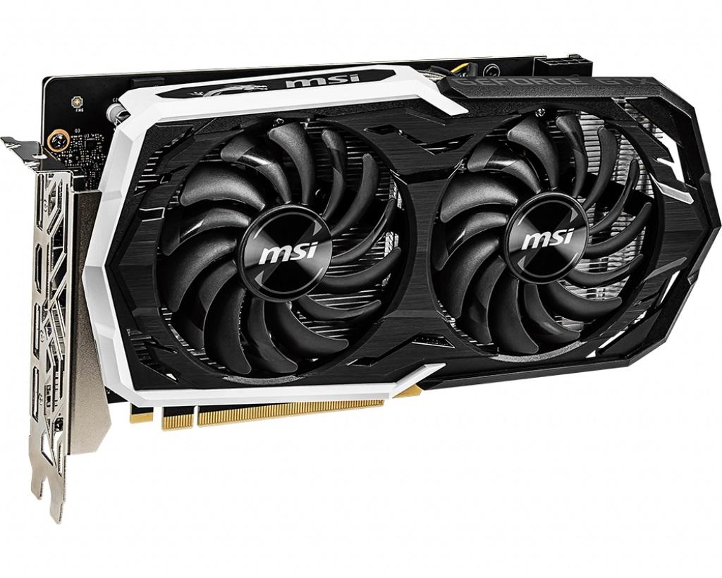 MSI GeForce GTX 1660 ARMOR 6G OC 6GB GDDR6 1xHDMI 3xDP PCI-E 3.0 DX12 ATX