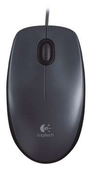 LOGITECH M90 corded optiacl Mouse black USB