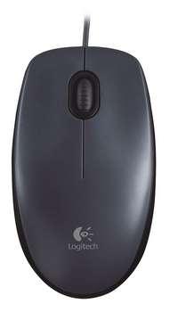 LOGITECH M90 corded optiacl Mouse black USB