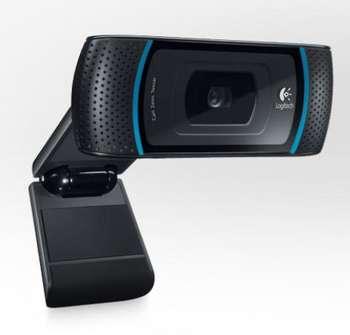 LOGITECH B910 HD Webcam for Business Karl-Zeiss-glas lense Autofokus 720p USB OEM