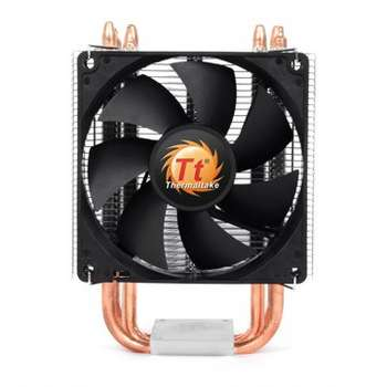 THERMALTAKE Contac 21 CPU Cooler Universal Socket Compatibility 92mm PWM fan four 6mm Heat-Pipes