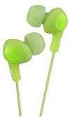 JVC HA-FX5 IN EAR HEADPHONES GREEN