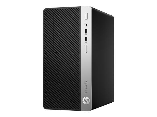HP ProDesk 400 G5 MT i5-8500 8GB 256GB M.2 2280 PCIe NVMe DVD-WR USBmouse HP USB Type-C Port W10P 1Y