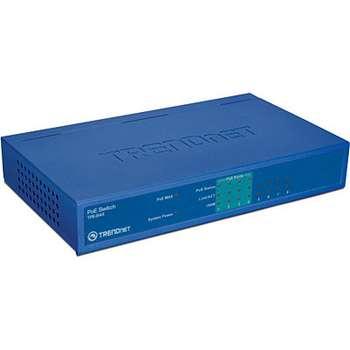 TRENDNET 8-Port 10 100Mbps PoE Switch 4 PoE 4 Non-PoE