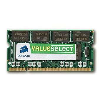 CORSAIR DDR2 800 MHz 2GB 200 SODIMM Unbuffered CL5