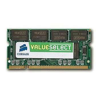 CORSAIR DDR2 800 MHz 2GB 200 SODIMM Unbuffered CL5